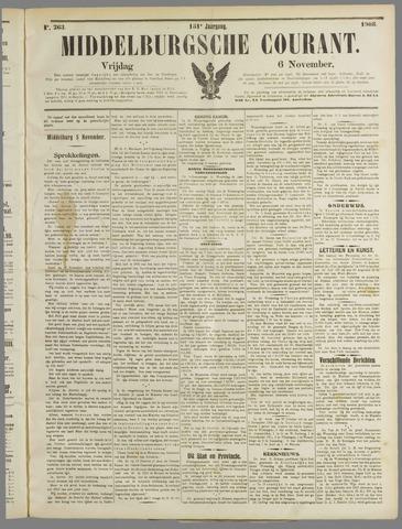 Middelburgsche Courant 1908-11-06