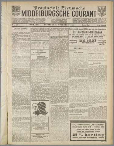 Middelburgsche Courant 1930-11-22
