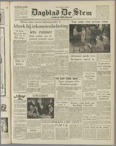 de Stem 1958-12-05