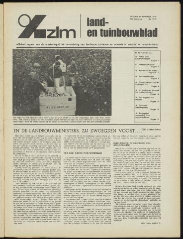 Zeeuwsch landbouwblad ... ZLM land- en tuinbouwblad 1972-10-13
