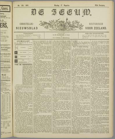 De Zeeuw. Christelijk-historisch nieuwsblad voor Zeeland 1897-08-17