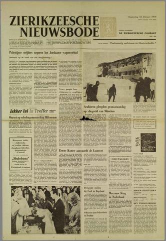 Zierikzeesche Nieuwsbode 1970-02-12