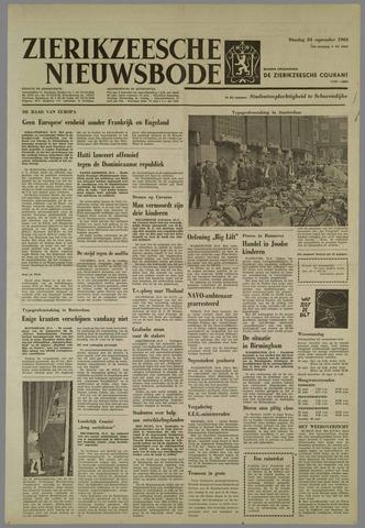 Zierikzeesche Nieuwsbode 1963-09-24