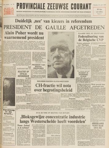Provinciale Zeeuwse Courant 1969-04-28