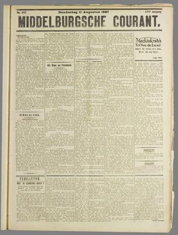 Middelburgsche Courant 1927-08-11