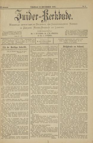 Zuider Kerkbode, Weekblad gewijd aan de belangen der gereformeerde kerken in Zeeland, Noord-Brabant en Limburg. 1897-12-31