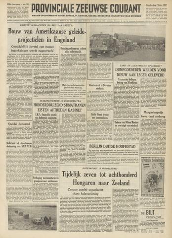 Provinciale Zeeuwse Courant 1957-02-07