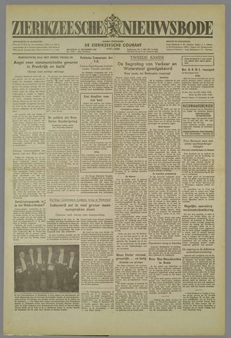 Zierikzeesche Nieuwsbode 1952-12-15