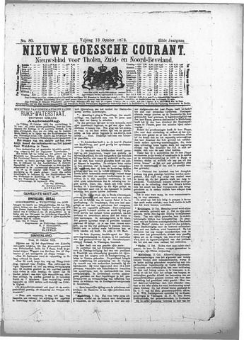 Nieuwe Goessche Courant 1876-10-13