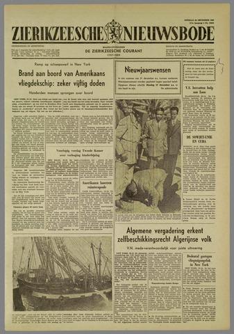 Zierikzeesche Nieuwsbode 1960-12-20
