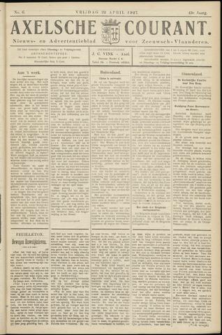 Axelsche Courant 1927-04-22