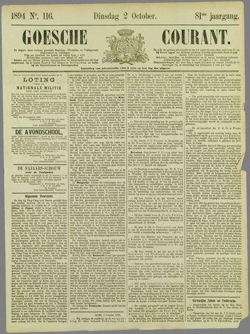 Goessche Courant 1894-10-02