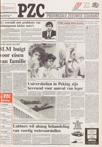 Provinciale Zeeuwse Courant 1989-06-09