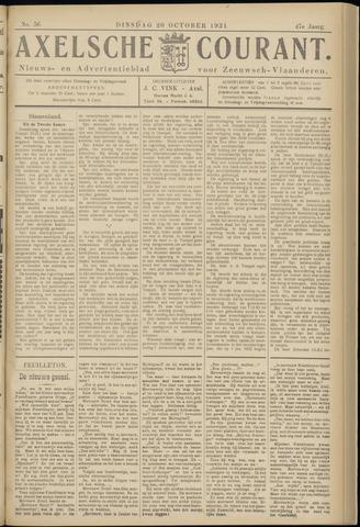 Axelsche Courant 1931-10-20