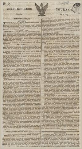 Middelburgsche Courant 1827-06-05