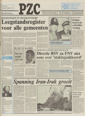 Provinciale Zeeuwse Courant 1980-10-09