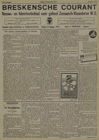 Breskensche Courant 1937-11-26