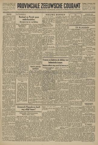 Provinciale Zeeuwse Courant 1946-02-01
