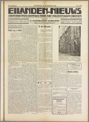 Eilanden-nieuws. Christelijk streekblad op gereformeerde grondslag 1940-08-24
