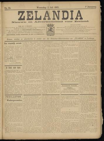 Zelandia. Nieuws-en advertentieblad voor Zeeland | edities: Het Land van Hulst en De Vier Ambachten 1902-07-02