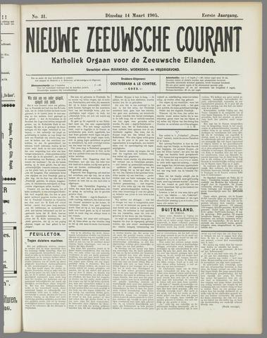 Nieuwe Zeeuwsche Courant 1905-03-14