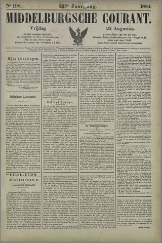 Middelburgsche Courant 1884-08-22