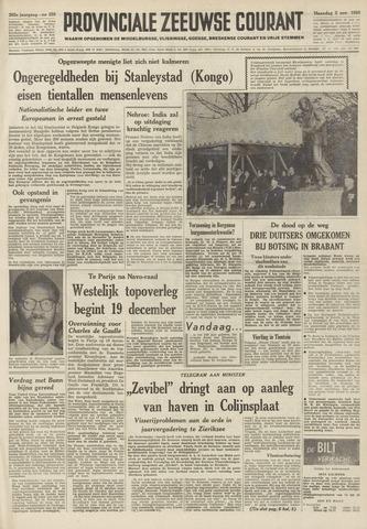 Provinciale Zeeuwse Courant 1959-11-02