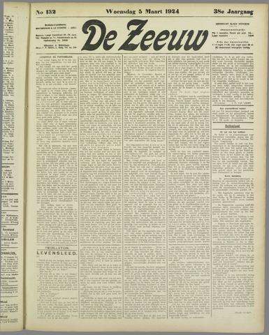 De Zeeuw. Christelijk-historisch nieuwsblad voor Zeeland 1924-03-05