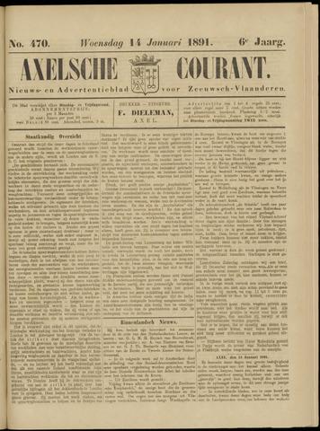 Axelsche Courant 1891-01-14