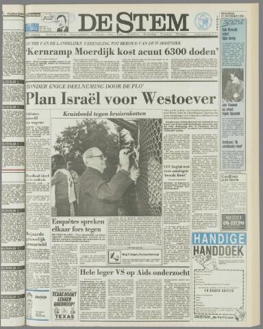 de Stem 1985-10-21