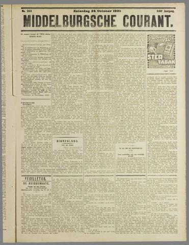 Middelburgsche Courant 1925-10-24