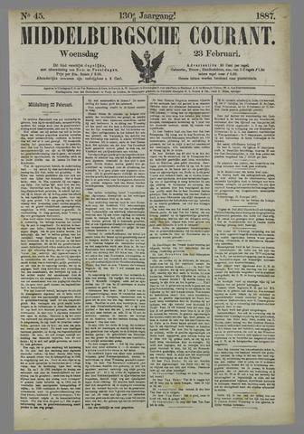 Middelburgsche Courant 1887-02-23