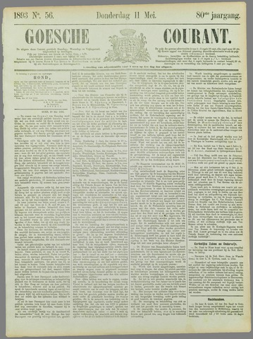 Goessche Courant 1893-05-11