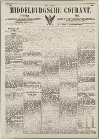 Middelburgsche Courant 1901-05-07