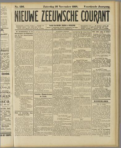 Nieuwe Zeeuwsche Courant 1918-11-16