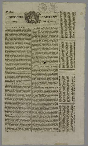 Goessche Courant 1822-01-25