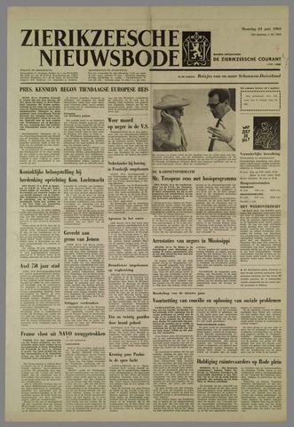 Zierikzeesche Nieuwsbode 1963-06-24