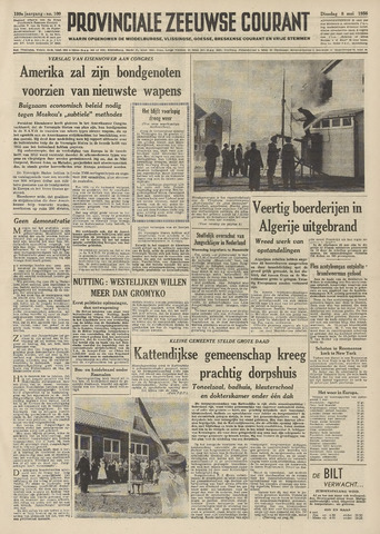 Provinciale Zeeuwse Courant 1956-05-08