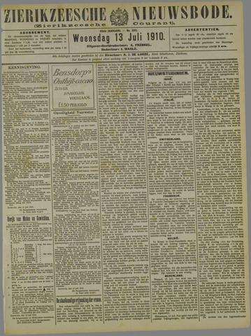 Zierikzeesche Nieuwsbode 1910-07-13