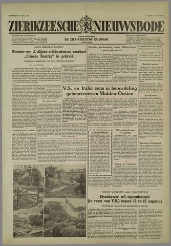 Zierikzeesche Nieuwsbode 1958-07-31