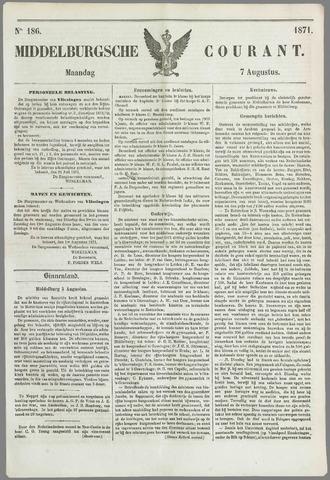 Middelburgsche Courant 1871-08-07