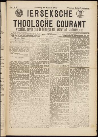Ierseksche en Thoolsche Courant 1916-01-29