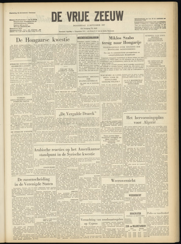 de Vrije Zeeuw 1957-09-12
