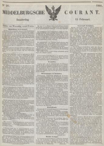 Middelburgsche Courant 1866-02-15