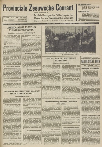 Provinciale Zeeuwse Courant 1941-03-11