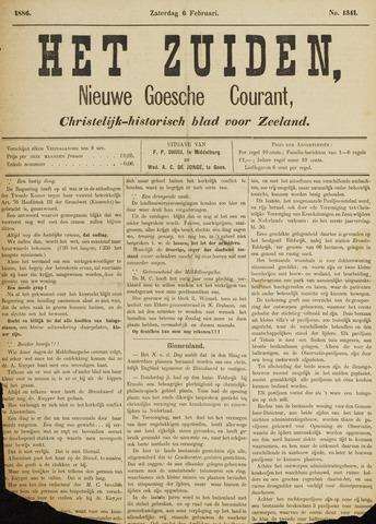 Het Zuiden, Christelijk-historisch blad 1886-02-06