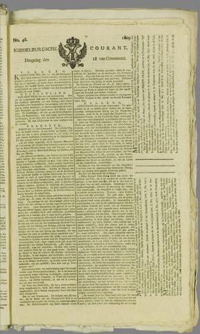 Middelburgsche Courant 1809-04-18