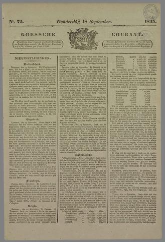 Goessche Courant 1845-09-18