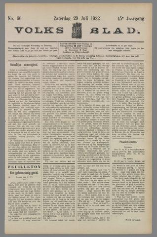 Volksblad 1922-07-29