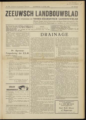 Zeeuwsch landbouwblad ... ZLM land- en tuinbouwblad 1952-06-14